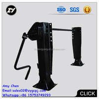 Truck sale for Mauritius trailer manufacture landing gear outside box 28T landing gear