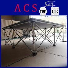 smart stage for event co/rental smart stage/aluminum riser stage smart