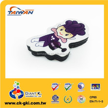 Customized promotional gifts color cute expo mascot fridge magnet