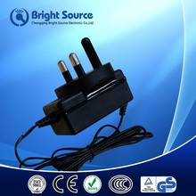 5v 6v 9v 12v 24v power adapter plug with CE/CCC/GS/ROHS certificates