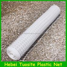 High Strength White Plastic Fencing Mesh