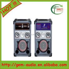 Wholesale Wireless 6.5'' Subwoofer HiFi Portable Music Speaker Gem-6007
