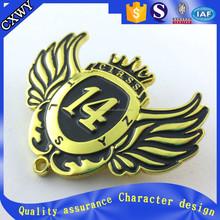 Customized Printed Metal wings Badge