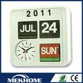 reloj de pared con calendario perpetuo