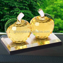 Christmas and valentine's day gifts crystal apple