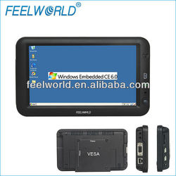 FEELWORLD 7 inch mini all in one PC with OS Win CE 6.0 ,RS232 port,659PC
