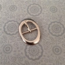 oval side release buckle for shoe