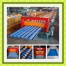 Automatic Corrugated Sheet Pasting Cold Steel Roll Forming Machine