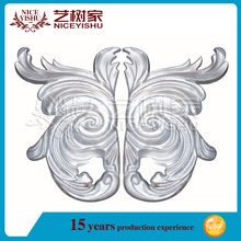Cast aluminum flowers/aluminum part design for gate fence and stair railings