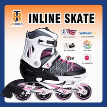 CE Approved Hot Sale 4 Wheel Buckle Inline Skates, Dirt Roller Skate Shoes With Lace