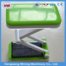 Factory price Folding rechargeable solar led desk lamp for sale