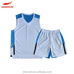 Quick dry breathable fabric hot jersey basketball design