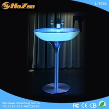 Supply all kinds of LED table butter,chair and LED table for food court
