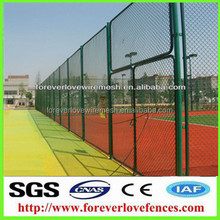 chain link fence type of soccer field fence