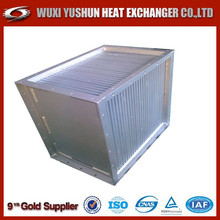 china supplier direct factory aluminum plate type air to air radiator