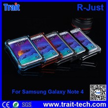 R-Just For Samsung Note 4, Water/Dirt/ Shock/ Proof Waterproof Case Cover