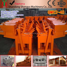 China hot sale cheapest cost soil brick making machine for developing countries