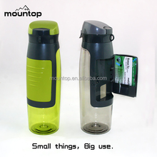 Highly heat-resistant PCTG water container/clear plastic drinking water bottle