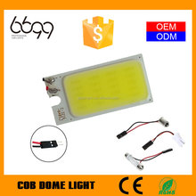 cob auto led read light cob car led roof lamp