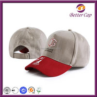 China guangzhou better cap factory made baseball cap headwear sports hat