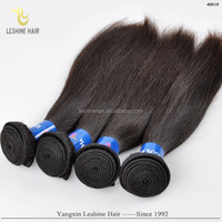 new beauty double weft 8a 7a 6a grade 100% virgin remy brazilian straight hair weave bundle