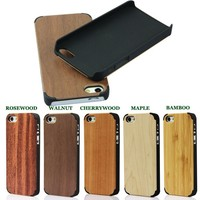 Simple smartphone cases,for iphone 5c covers cases,wood for iphone 5S covers