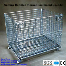 Collapsible Storage Metal Wire Mesh Baskets with CE Certificate