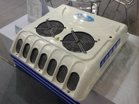 KT-06 6KW 12V 24V Roof top mounted air conditioner for cooling truck cabin, tractor cab, caravan, mini van