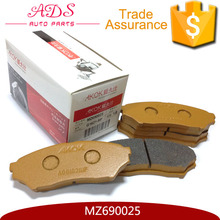 Old experience factory off market auto parts car pads for front brake H76/PAJEROio MZ690025