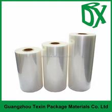 PET shrink film for food packaging heat shrink wrap printing