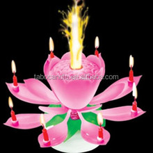 On Sale Magic Flame Flower Birthday Candle for Birthday Party/Occasions