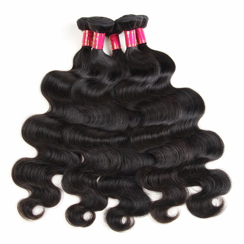 8a Grade Peruvian Body Wave Human Hair Weave