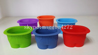 Novelty Fred Muffin Cups Jeans Tops FDA Silicone Baking Cups, cupcake liner