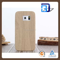 Handy Cover Tablet Charming Soft PU Surface Wooden Texture cover case For Samsung Galaxy S6 edge Pu case fast delivery