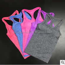 Lady quick-drying clothes Yoga workout clothes trendy tank top sportwear vest