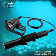 New Design Underwater Scuba LED Canister Diving Torch