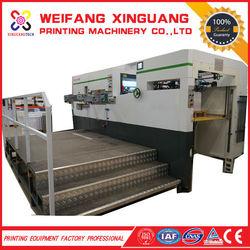 XMQ-1050E The high precision carton boxes die cutting machine production