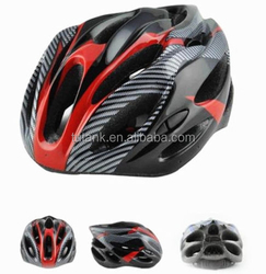 New Adult Carbon Safety Bicycle Outdoor Helmet Red With Visor