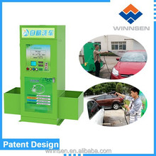 Coin/card operated Auto car wash machine three functions water bubble and wax with thermal insulationWCW-A10