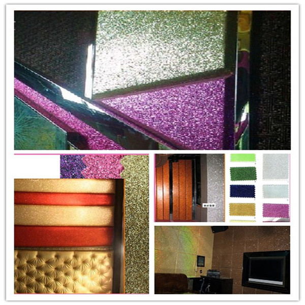 Glitter Wallpaper Manufacturer Made In China