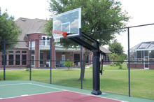 School Fixed Height Adjuster Basketball Hoop