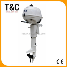 gas fuel made in china 4 stroke 2.5 hp ISO9001-2008 CE approved boat engine outboard with cheap price
