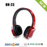 high quality long talking time bluetooth headphone