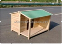 remium Rustic Dog House Pet Products Furniture Ventilation, Medium, Wood, Glazed Pine