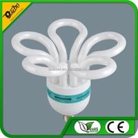 5u plum blossom flower energy saving cfl light bulb