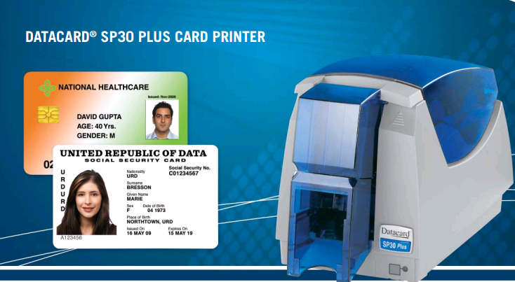 Принтер пластиковых Карт/Пвх Карты/Пвх Id Card Printer Price