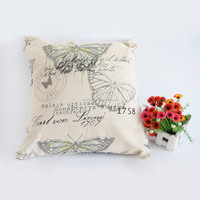 45*45cm 2015 Newest Design Cushion Cover Luxury Knitting Butterfly Pillow Throw Covers Home Decoration sofa cushions for sale