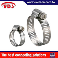 Taiwan gi pipe clamp for gas hose connector compression clamp