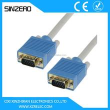 RGB VGA cable/vga coaxial cable converter XZRV001/vga cable max resolution