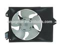 Ventilador del radiador del motor para mb 97-02 lancer, mirage 97-02, mr201374 mb6582 mr460922